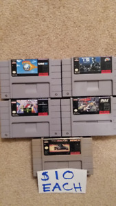 LOT OF SNES GAMES FOR SALE