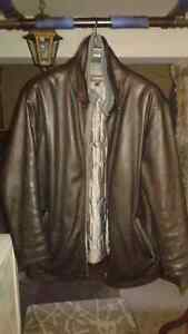 DANIER 100% GENUINE LEATHER COAT - LOW PRICE, BRAND NEW-LIKE Windsor Region Ontario image 1
