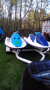 2 seadoos on trailer with ownership Quick sale