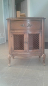 Two French style night stands for sale