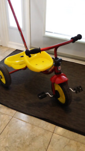 Kids Trike metal and rubber tires.