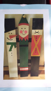 Order Now Christmas Pickets Single or Triple Picket