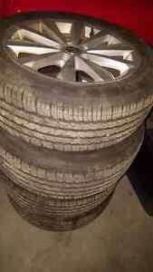 215/55/17 hankook 4 season ..new