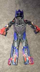 Trans Formers Optimus Prime Halloween Costume size S (4-6)