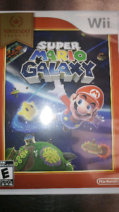 Super Mario Galaxy Wii NÉGOCIABLE