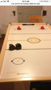 Carrom Air Hockey table