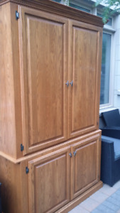 Custom Handmade Cabinet - Solid Wood NOT IKEA