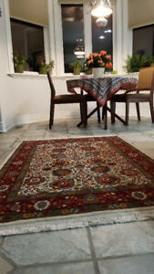 Tabriz Persian Rug, Handmade, Silk and Wool- Heidarian Brand