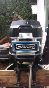 7.5 hp Mercury o/b