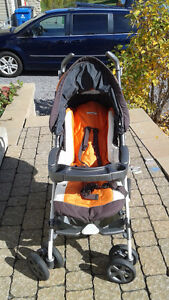 Poussette Peg Perego orange