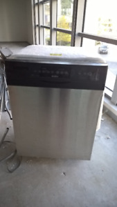 Used Stainless Steel Under Counter Kenmore Dishwasher