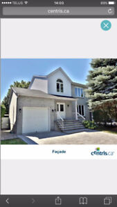 5 1/2 house in Brossard for rent