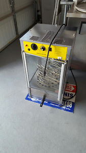 Pizza Display with Oven