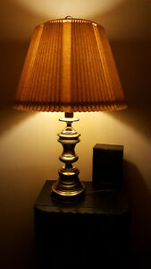 For Sale 2 Table Lamps and 1 Hanging Lamp - Matching
