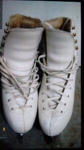 Jackson girl's figure skates