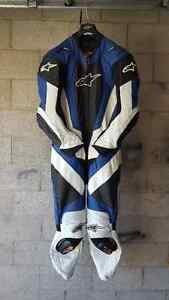 Alpinestars one piece leathers and boots.
