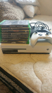 Xbox one S 1TB Gear of war 4 edition **REDUCED**