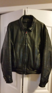 Firstgear Leather Motorcycle Jacket - Mens Medium