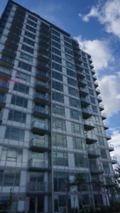 Brand New 1 Bed & Den on 23nd Floor of Wall Centre Central Park