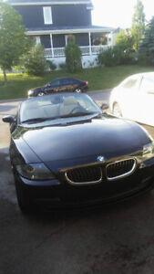 2006 BMW Z4 Noir Cabriolet