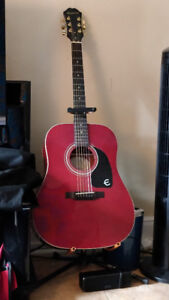 6 String Acoustic Epiphone guitar