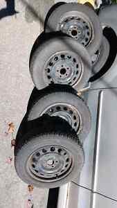 Goodyear Ultra Grip Winter Tires w/Steel Rims Peterborough Peterborough Area image 4