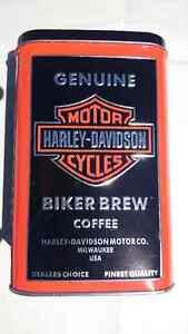 Harley Davidson Coffee and Tin