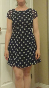 Polka dot dress - excellent condition