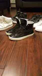 Louis Vuitton patent leather hightop sneakers sz. 8.5-9