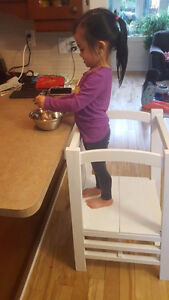Brand new kitchen learning tower/step stool