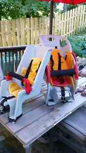 Co-pilot bike seats