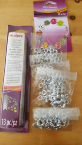 Sculpey bead rack and bead cores