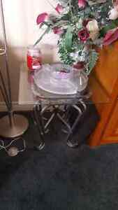 glass coffee table with end table. Cambridge Kitchener Area image 2