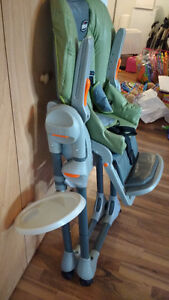 Chicco high chair excellent condition West Island Greater Montréal image 1