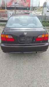 2000 Honda Civic Sedan Low Kms 1 Owner