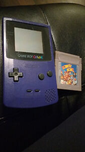 Gameboy color w donkey Kong game