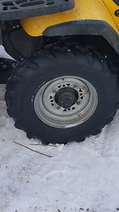 Polaris rims and tires
