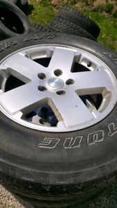 """18"""" JEEP WRANGLER RIMS AND TIRES"""