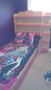 Barbie twin bed
