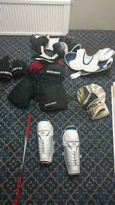 Kit de hockey avec poche de hockey