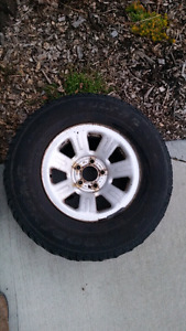 Ford Ranger Rims and Goodyear tires