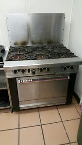 """36"""" Garland Commercial Gas Range"""