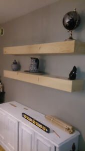 ****Custom Wooden Floating Shelves****
