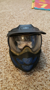 Paintball Mask and elbow pads