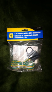 4 pin wire harness for trailer