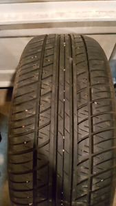 1 - like new 205 55 R16 tire $30