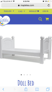 Maplelea Bed and bedding