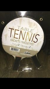 Professional Table Tennis Paddles - Rackets NEW pack of 2