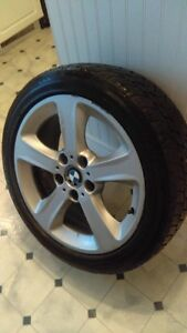 BMW Rims with Winter Tires West Island Greater Montréal image 3