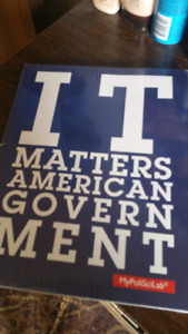 LU poli sci text: it matters American government